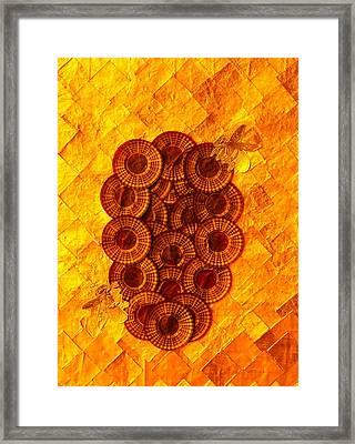 Honeybee 2 Framed Print