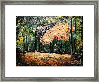 Honeymoon Framed Print