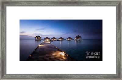 Honeymooners Paradise Framed Print