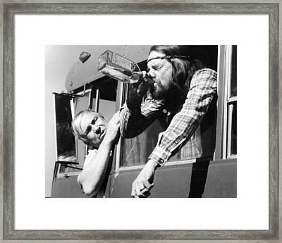 Honeysuckle Rose  Framed Print by Silver Screen