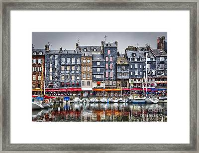 Honfleur Framed Print by Delphimages Photo Creations