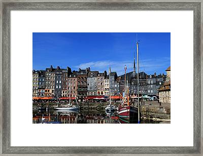 Honfleur France Framed Print by Tom Prendergast