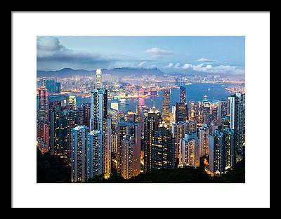 Hong Kong Framed Prints