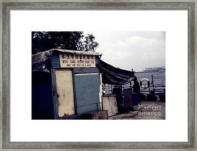 Hong Kong Boat For Hire Framed Print by Scott Shaw