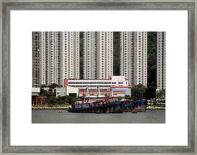 Hong Kong Framed Print by Joyce Woodhouse