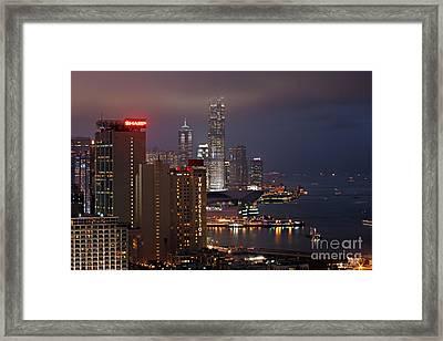 Hong Kong Framed Print
