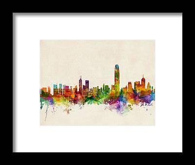 China Framed Prints