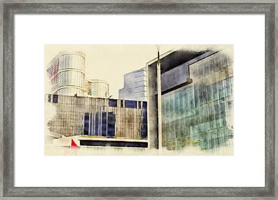 Hong Kong Streets 8 Framed Print