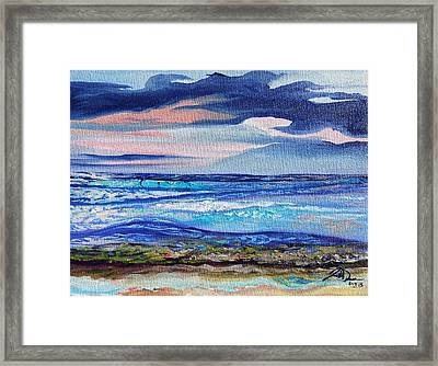 Honokowai Beach Framed Print by Joseph Demaree
