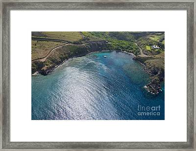 Honolua Bay Framed Print