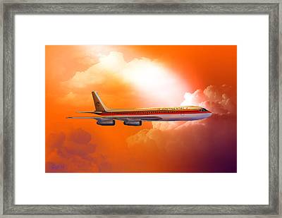 Honolulu Bound 1977 Framed Print