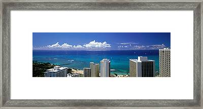 Honolulu Hawaii Framed Print