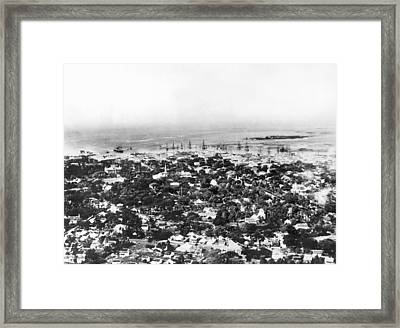 Honolulu, Hawaii Framed Print by Underwood Archives