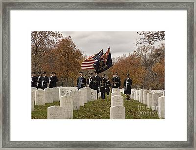 Honor Guard Framed Print