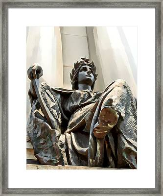 Honor Framed Print by James Stough