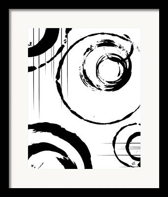 Abstract Shapes Drawings Framed Prints