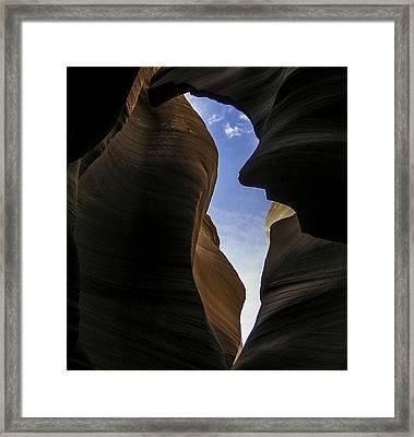 Honor The Sky Framed Print by Lovejoy Creations