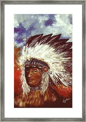 Honorable Chief Framed Print