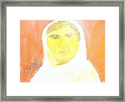 Honoring Malala Yousafzi's Nobel Peace Prize - Shot By Taliban For Championing Schooling For Girls 2 Framed Print