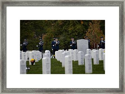 Honoring The Fallen Framed Print by Mountain Dreams