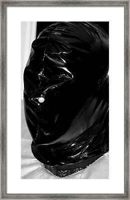 Hooded Framed Print by Chris Black