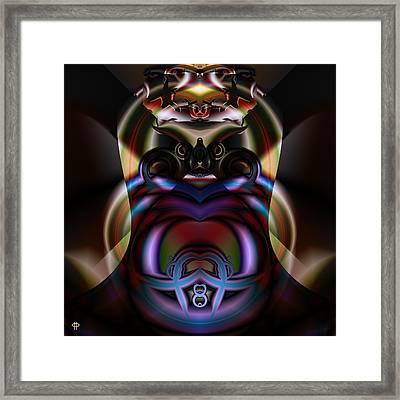 Hooded Cobra Framed Print by Jim Pavelle
