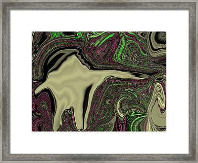 Hooded Menace Framed Print by Jason Lees