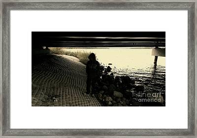 Hoodlum Framed Print by Jacqueline Athmann