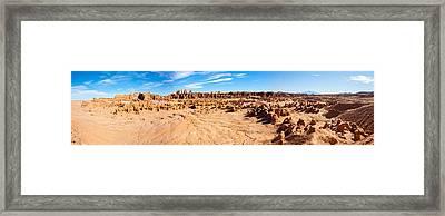 Hoodoo Formations, Goblin Valley Framed Print