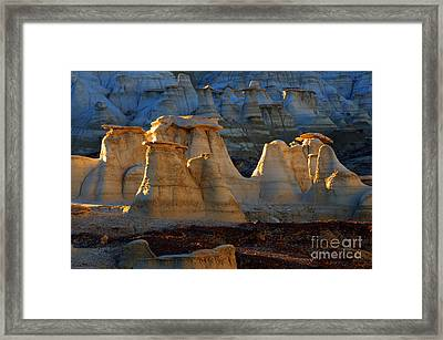 Hoodoo Magic Bisti/de-na-zin Wilderness Framed Print by Bob Christopher