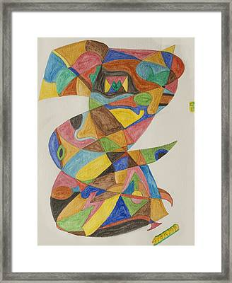 Hoodoo Man Framed Print by Stormm Bradshaw