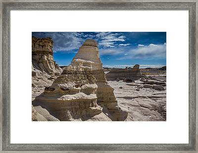 Hoodoo Rock Formations Framed Print