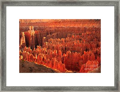 Hoodoos Basin Framed Print by Robert Bales