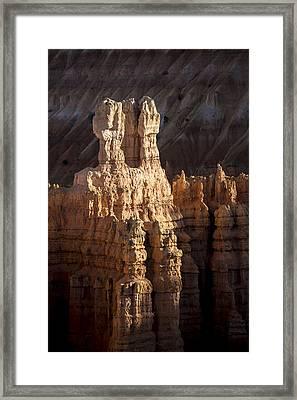 Hoodoos Framed Print