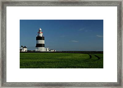 Hook Head Lighthouse Framed Print by Peter Skelton