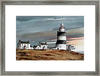 Hook Lighthouse Wexford Framed Print