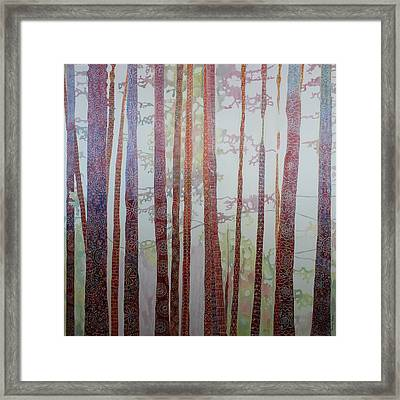 Hooked On Trees-sold Framed Print by Sandrine Pelissier