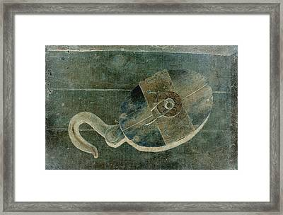 Hooked Framed Print by WB Johnston