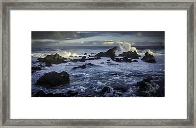 Hookipa Beach Sunrise Framed Print
