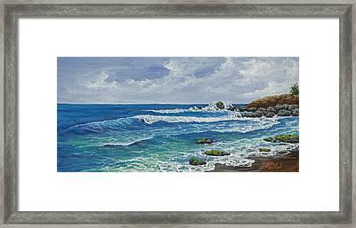 Hookipa Framed Print by Darice Machel McGuire