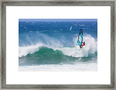 Hookipa, Maui Hawaii Framed Print by Douglas Peebles