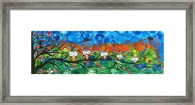 Hoolandia Family Tree 03 Framed Print