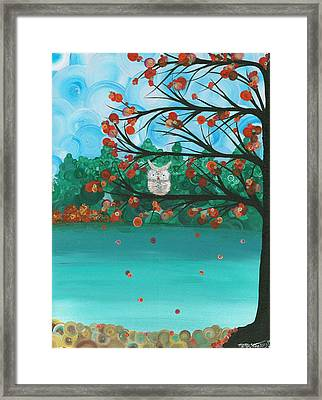 Hoolandia Seasons - Autumn Framed Print