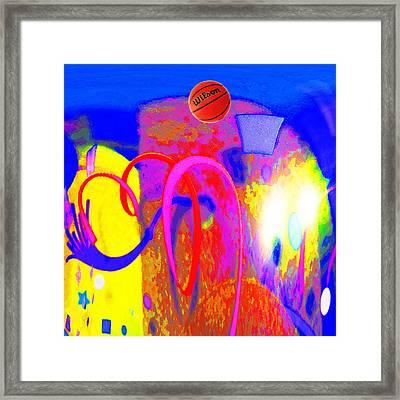 Hoop Framed Print by Bruce Iorio