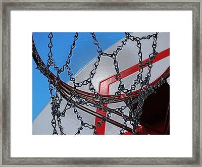 Hoop Dreams Framed Print