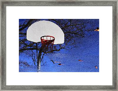 Framed Print featuring the photograph Hoop Dreams by Jason Politte