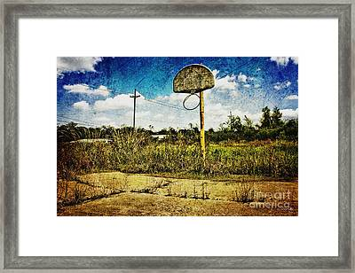 Hoop Dreams Framed Print by Scott Pellegrin