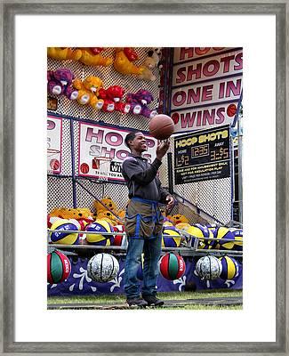 Hoop Shots Framed Print by Rory Sagner