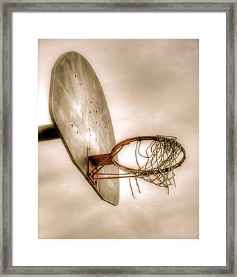Hoop Framed Print by Steve Ratliff