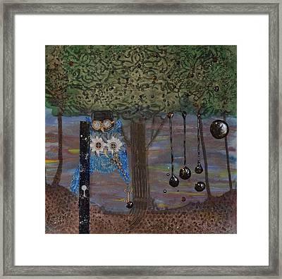 Hoopunked Steampunked No. 391 Framed Print